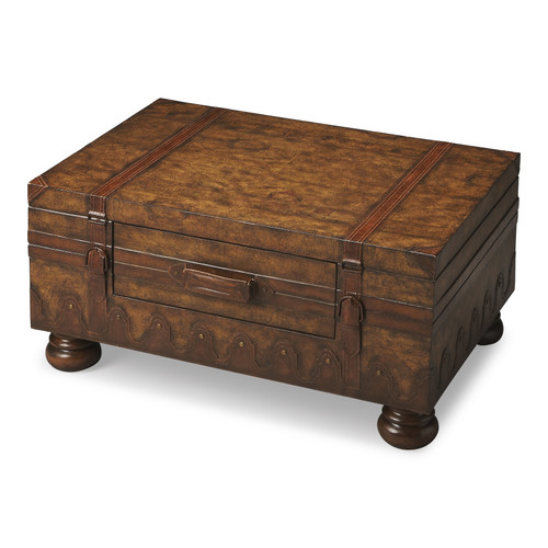 "18"" Butler Heritage Trunk Table - 1"