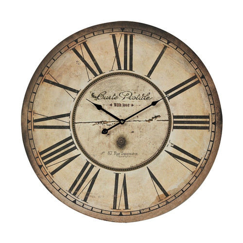 "24"" ELK Home Carte Postal Clock, Traditional - 1"