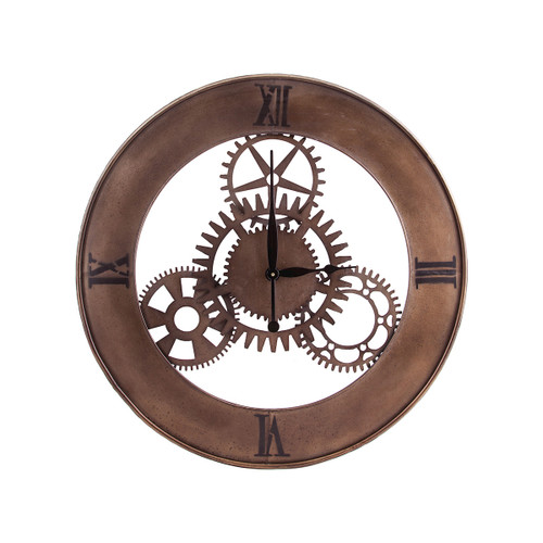 "30"" ELK Home Industrial Cog Wall Clock, Transitional - 1"
