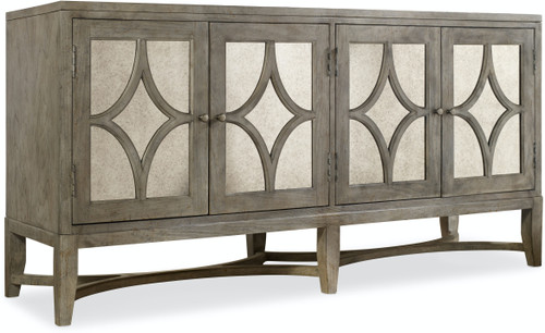 """34"""" Hooker Furniture Living Room Diamante Console Cabinet - 1"""