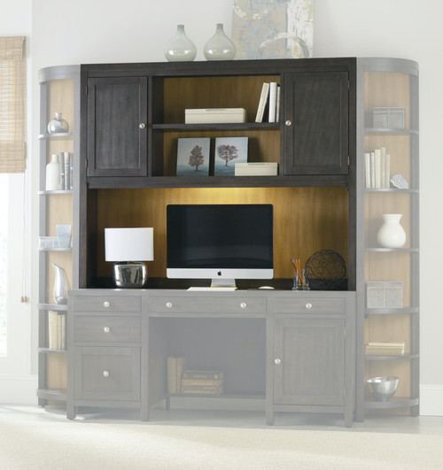 """54"""" Hooker Furniture Home Office South Park Computer Credenza Hutch - 1"""