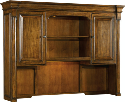 """56"""" Hooker Furniture Home Office Tynecastle Computer Credenza Hutch - 1"""