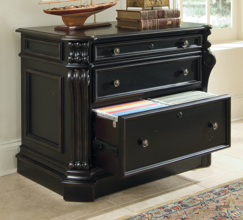 """30"""" Hooker Furniture Home Office Two-Drawer Telluride Lateral File - 1"""