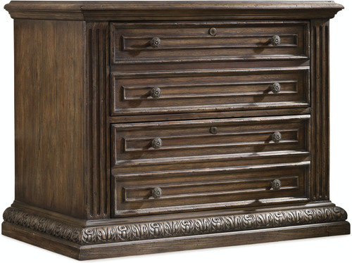 "31"" Hooker Furniture Home Office Two-Drawer Rhapsody Lateral File - 1"
