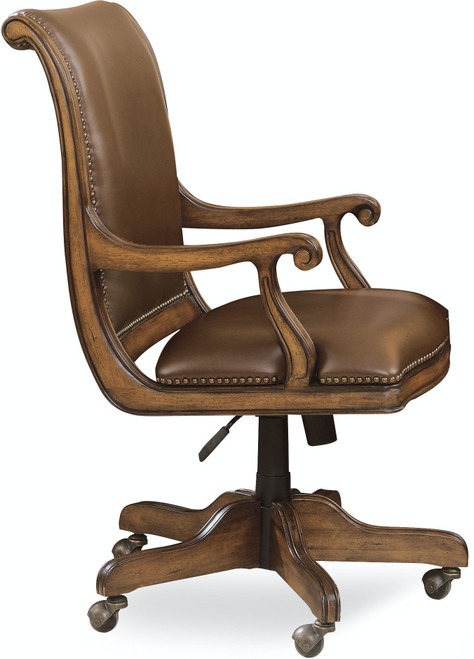"42"" Hooker Furniture Home Office Brookhaven Desk Chair - 1"