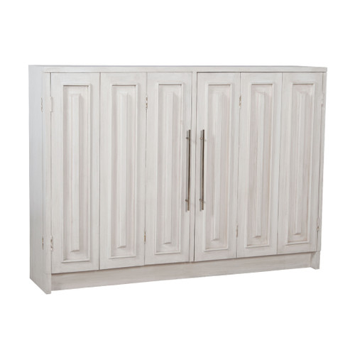 """60"""" ELK Home Parsons Sideboard in Manor Whitewash, Traditional - 1"""
