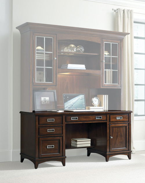"31"" Hooker Furniture Home Office Five-Drawer Latitude Computer Credenza Cabinet - 1"
