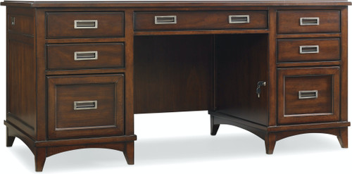 "31"" Hooker Furniture Home Office Latitude Executive Desk - 1"