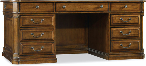 "31"" Hooker Furniture Home Office Tynecastle Executive Desk - 1"
