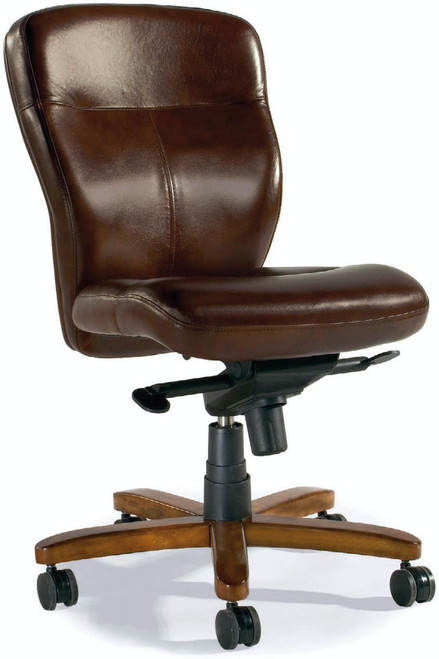 "40"" Hooker Furniture Home Office Sasha Executive Swivel Tilt Chair - 1"