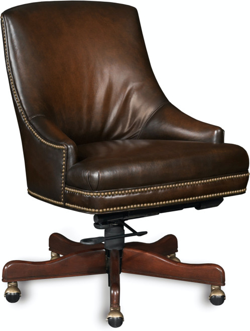 "37"" Hooker Furniture Home Office Heidi Executive Swivel Tilt Chair - 1"