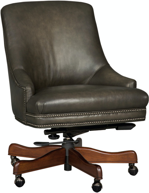"37"" Hooker Furniture Home Office Heidi Executive Swivel Tilt Chair 1 - 1"
