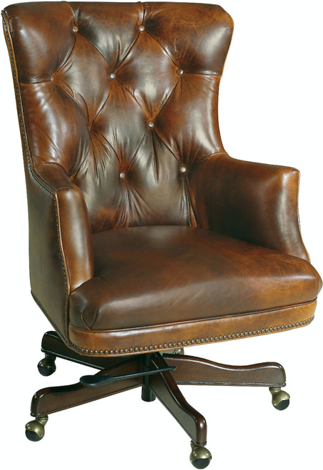 "42"" Hooker Furniture Home Office Bradley Executive Swivel Tilt Chair - 1"