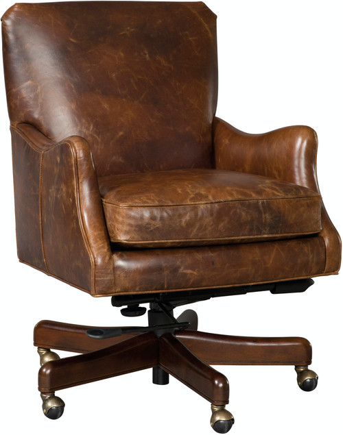 "35"" Hooker Furniture Home Office Barker Executive Swivel Tilt Chair - 1"