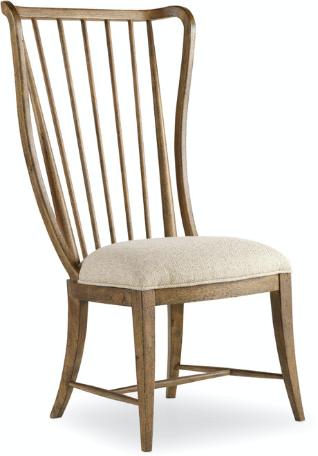 """46"""" Hooker Furniture Dining Room Sanctuary Tall Spindle Side Chair - 1"""