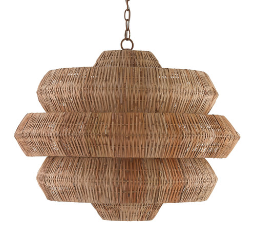 "30"" Currey and Company Antibes Chandelier - 1"