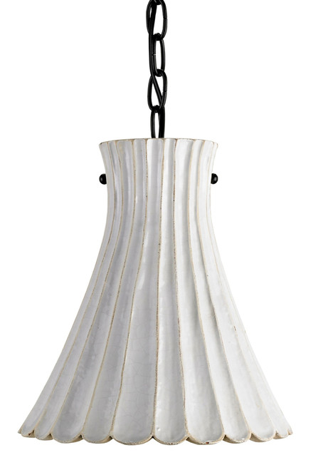 "10"" Currey and Company Jazz Pendant - 1"