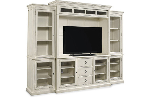 "113"" Universal Furniture Summer Hill Home Entertainment Wall System - 1"