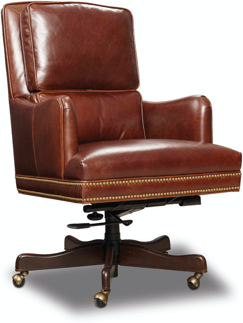 "42"" Hooker Furniture Home Office Kara Executive Swivel Tilt Chair - 1"