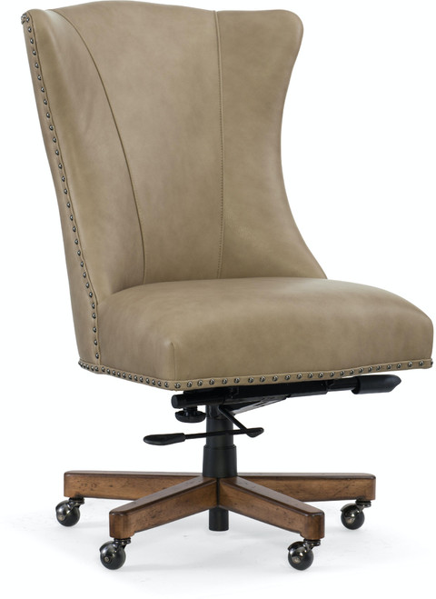 "42"" Hooker Furniture Home Office Lynn Executive Swivel Tilt Chair 1 - 1"