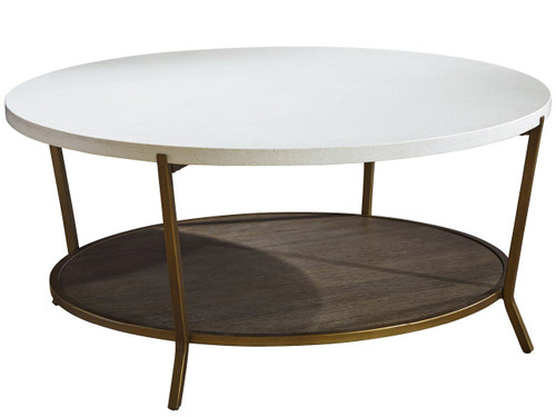 """42"""" Universal Furniture Playlist Round Cocktail Table - 1"""