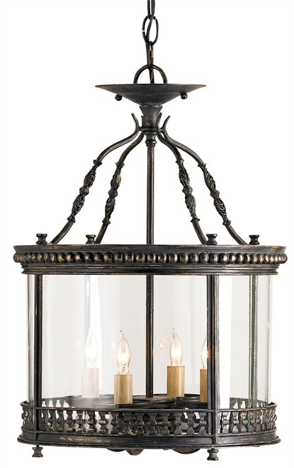 "20"" Currey and Company Grayson Small Lantern - 1"