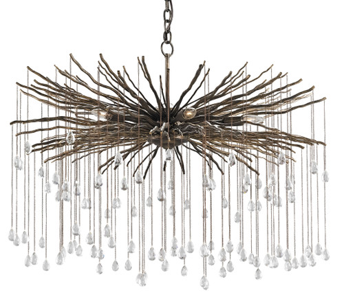 "38"" Currey and Company Fen Large Chandelier - 1"