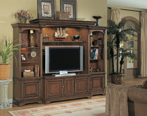 """83"""" Hooker Furniture Entertainment Brookhaven Home Theater Unit - 1"""