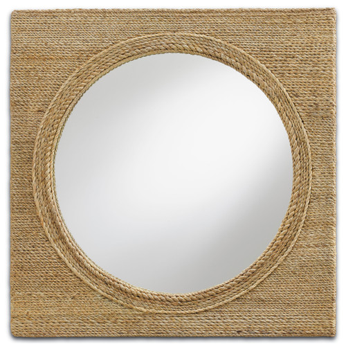 "20"" Currey and Company Tisbury Small Mirror - 1"