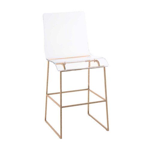 Gabby Home King Counter Stool - Gold - 1