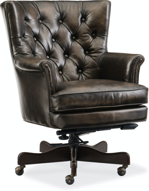 "40"" Hooker Furniture Home Office Theodore Executive Swivel Tilt Chair - 1"