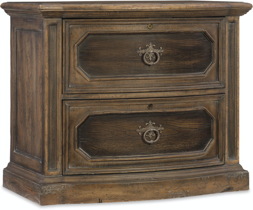 """32"""" Hooker Furniture Home Office Two-Drawer Lemming Lateral File - 1"""