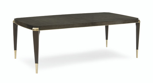 "Caracole 83"" Caracole Classic - All Trimmed Out, Whisper of Gold, Charcoal Anegre, Seal Skin-1"