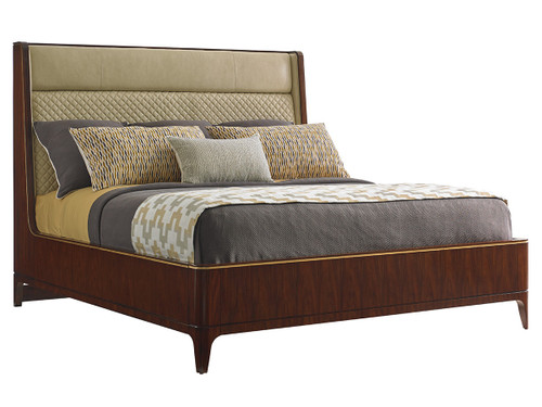Empire Upholstered Platform Bed 1