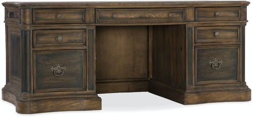 "31"" Hooker Furniture Home Office St. Hedwig Executive Desk - 1"