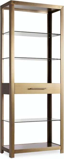 """82"""" Hooker Furniture Home Office Curata Bunching Bookcase - 1"""