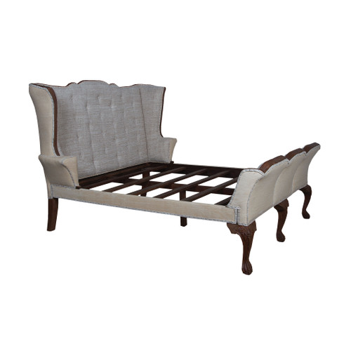 """96"""" ELK Home Jefferson King Sleigh Bed, Traditional - 1"""