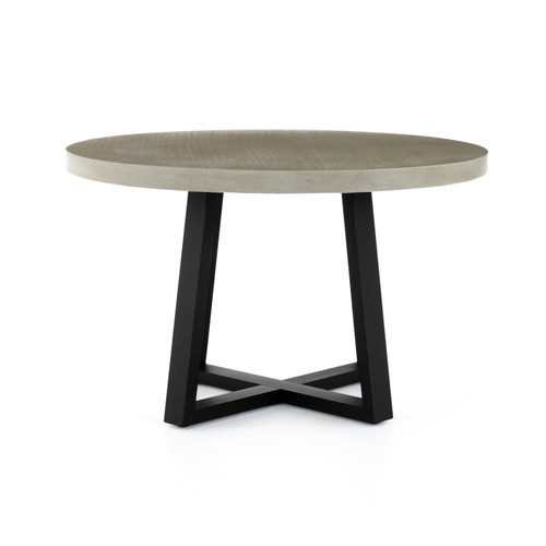 "30"" Four Hands Cyrus Outdoor Round Dining Table 3 - 1"