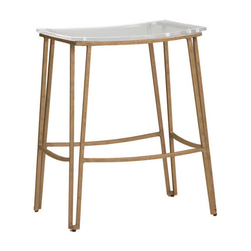 Gabby Home Pierce Counter Stool - Gold - 1