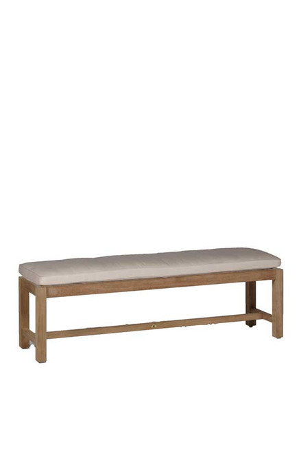 Club Teak Backless Bench 1