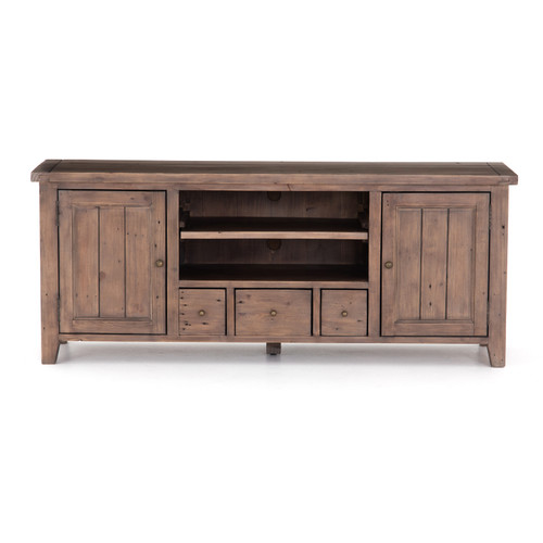 Irish Coast Tv Console 3Drw/2Dr-Sun Ash