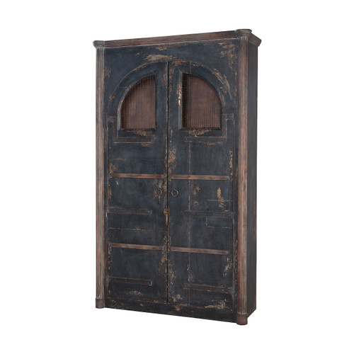 """80"""" ELK Home Farmhouse Rustic Armoire, Traditional - 1"""