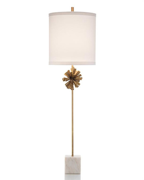 "46"" John Richard Brutalist Buffet Lamp - 1"