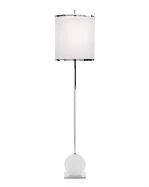 "38"" John Richard Callisto Buffet Lamp in Nickel - 1"