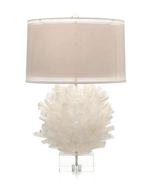 "32"" John Richard Selenite Table Lamp I - 1"