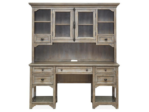 Tinley Park Desk - Base and Hutch