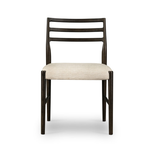 "34"" Four Hands Glenmore Dining Chair - Light Carbon - 1"