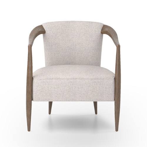 "30"" Four Hands Atwater Chair - Axis Stone - 1"