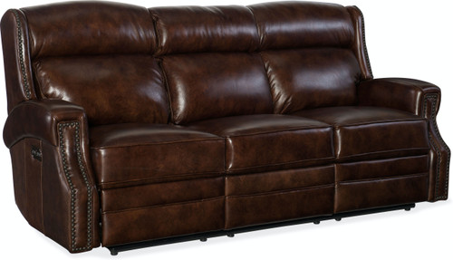 MS Carlisle Power Motion Sofa w/Pwr Headrest