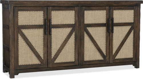 """42"""" Hooker Furniture Dining Room Two-Drawer Roslyn County Buffet Cabinet - 1"""